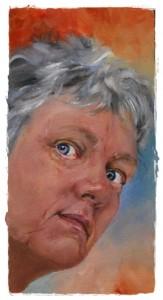 zelfportret, artist