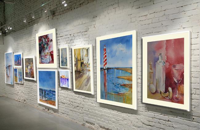 aquarellen en olieverf schilderijen van Joke Klootwijk