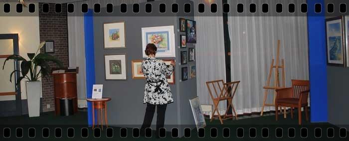 expositie aquarellen
