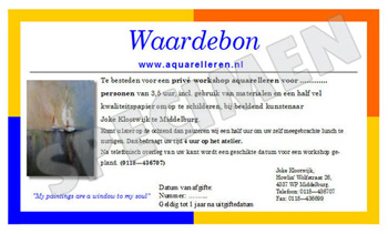 workshops nat-in-nat-techniek aquarel