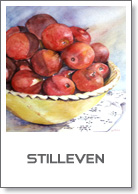 stilleven, aquarel