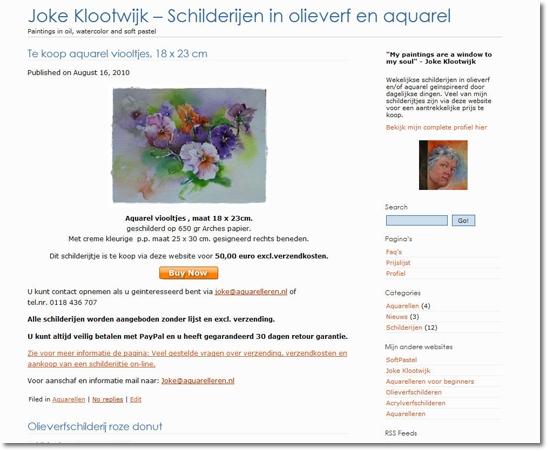 aquarel, aquarelleren,  aquarel leren