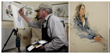 watercolorist Charles Reid